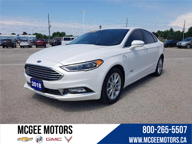 2018 Ford Fusion Energi Titanium (Stk: R272110) in Goderich - Image 1 of 27