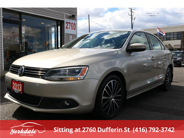 2013 Volkswagen Jetta 2.0 TDI Highline (Stk: S33298) in North York - Image 1 of 26