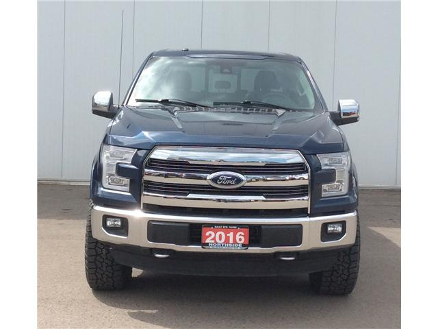 2016 Ford F-150 Lariat (Stk: P4828) in Sault Ste. Marie - Image 2 of 9