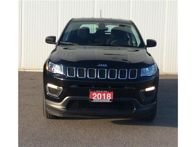 2018 Jeep Compass Sport (Stk: V18307B) in Sault Ste. Marie - Image 2 of 11
