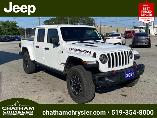 2021 Jeep Gladiator Rubicon (Stk: N05064) in Chatham - Image 1 of 21