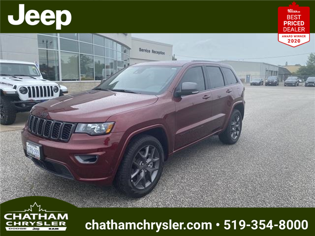 2021 Jeep Grand Cherokee Limited (Stk: N04990) in Chatham - Image 1 of 20