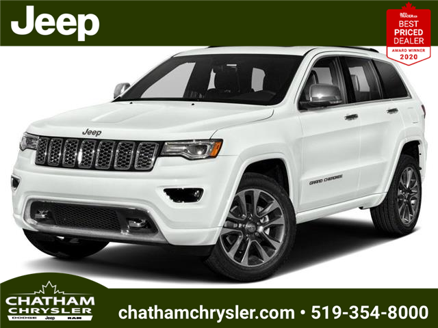 2021 Jeep Grand Cherokee Overland (Stk: ) in Chatham - Image 1 of 9