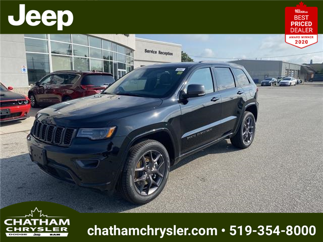 2021 Jeep Grand Cherokee Limited (Stk: N05074) in Chatham - Image 1 of 23