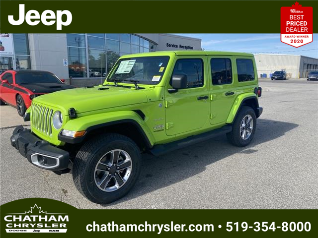 2021 Jeep Wrangler Unlimited Sahara (Stk: N05142) in Chatham - Image 1 of 20
