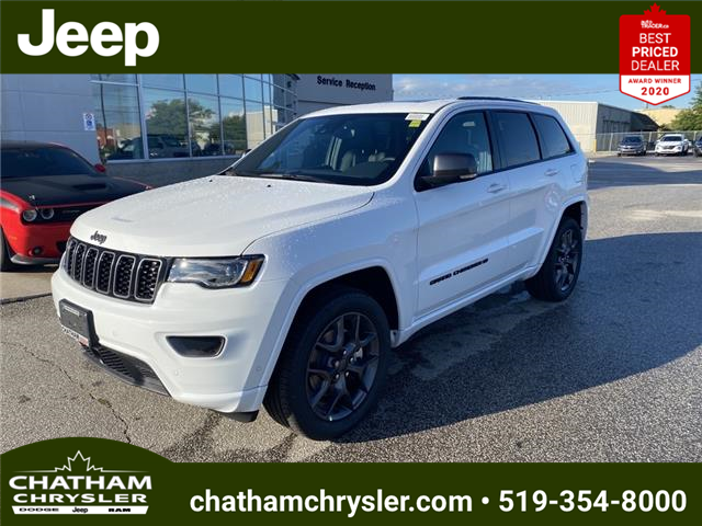 2021 Jeep Grand Cherokee Limited (Stk: N05121) in Chatham - Image 1 of 23