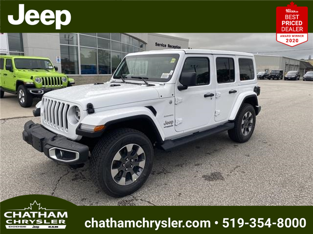 2021 Jeep Wrangler Unlimited Sahara (Stk: N05177) in Chatham - Image 1 of 18