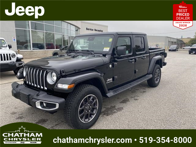 2021 Jeep Gladiator Overland (Stk: N05186) in Chatham - Image 1 of 19