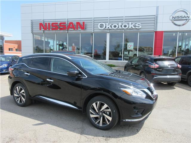 2018 Nissan Murano Platinum (Stk: 185) in Okotoks - Image 1 of 27