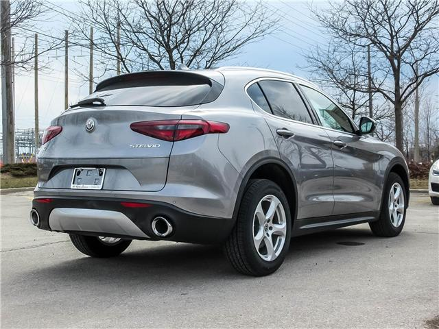 2018 Alfa Romeo Stelvio Base (Stk: 152ARSERVICE) in Oakville - Image 5 of 30
