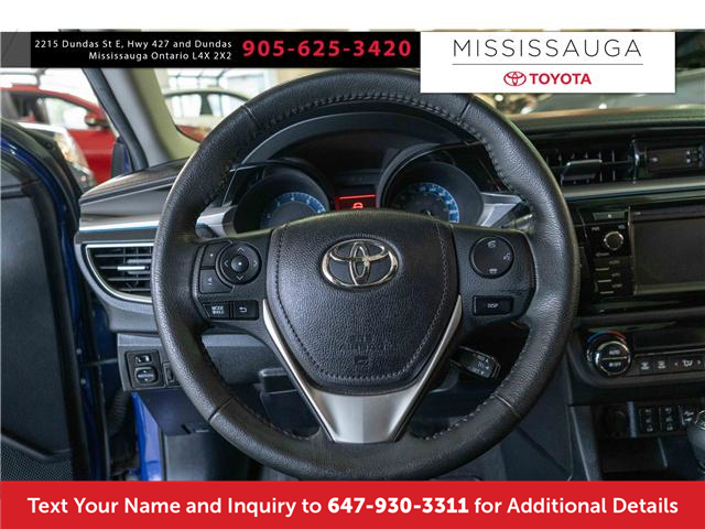 2015 Toyota Corolla S (Stk: J41176A) in Mississauga - Image 2 of 14