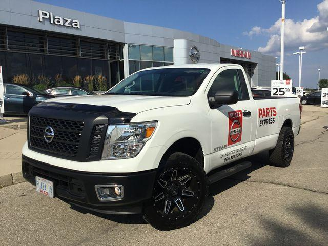 2017 Nissan Titan S (A7) 4×2 Single Cab 8 ft. box