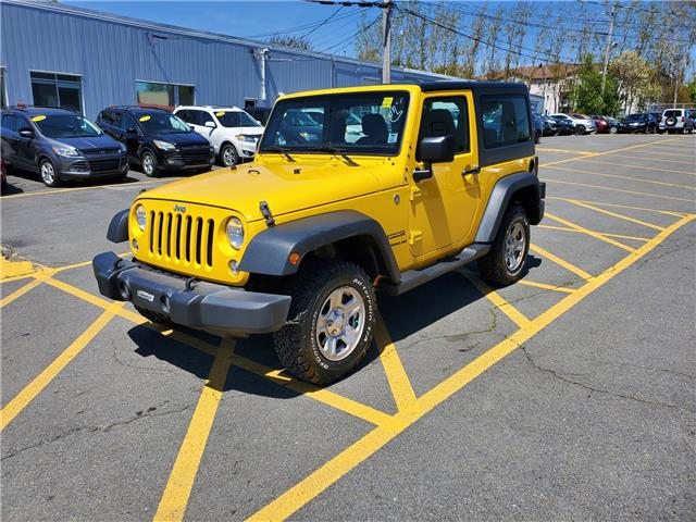 2015 Jeep Wrangler Sport 4WD (Stk: p21-125) in Dartmouth - Image 1 of 13