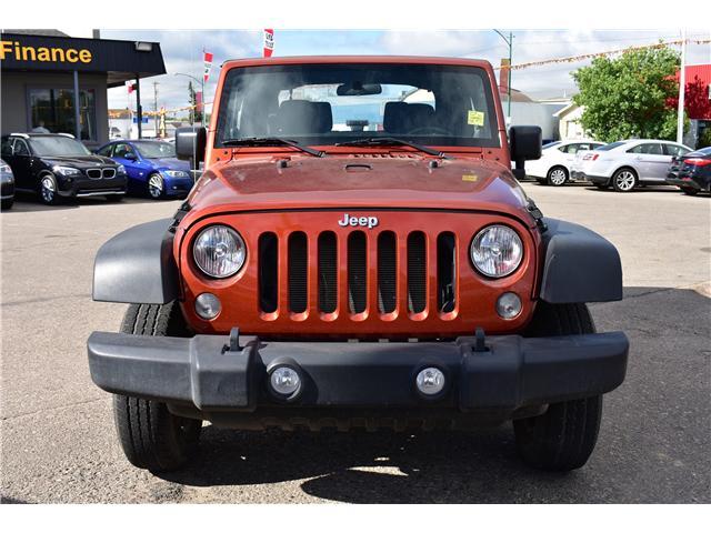 2014 Jeep Wrangler Sport (Stk: P35418) in Saskatoon - Image 2 of 18