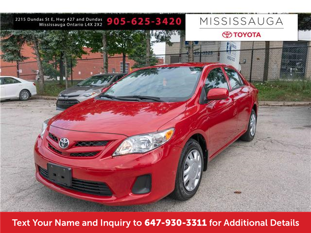 2013 Toyota Corolla CE (Stk: 19704) in Mississauga - Image 1 of 17