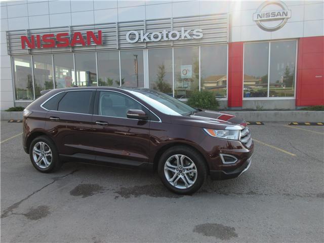 2017 Ford Edge Titanium (Stk: 7611) in Okotoks - Image 1 of 27