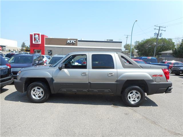 2003 Chevrolet Avalanche 1500 Base (Stk: CBK2480) in Regina - Image 2 of 17