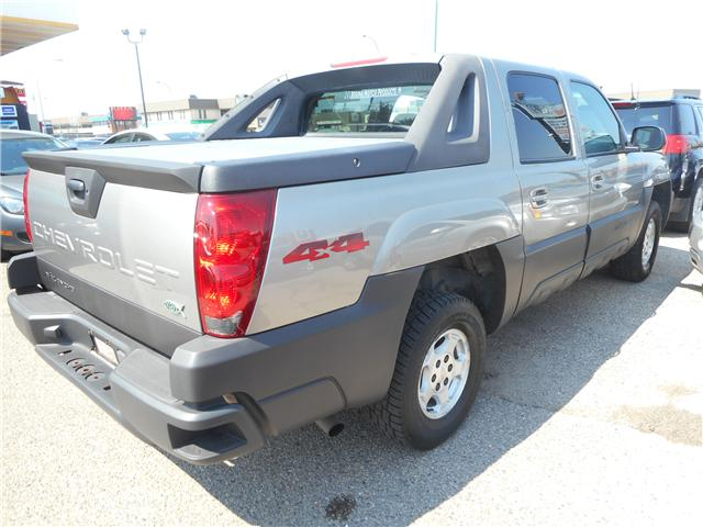 2003 Chevrolet Avalanche 1500 Base (Stk: CBK2480) in Regina - Image 5 of 17