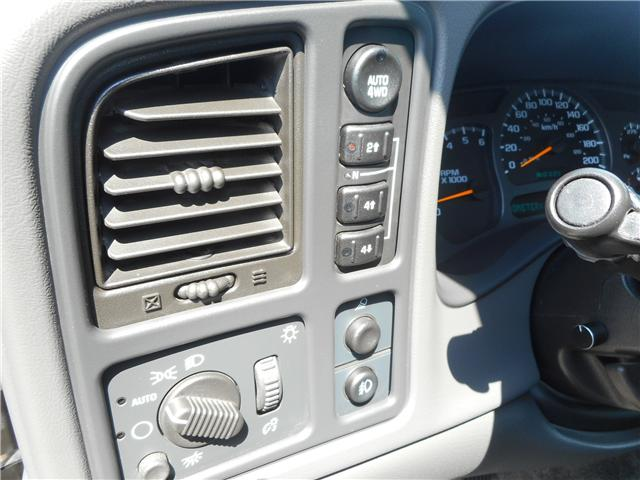 2003 Chevrolet Avalanche 1500 Base (Stk: CBK2480) in Regina - Image 11 of 17