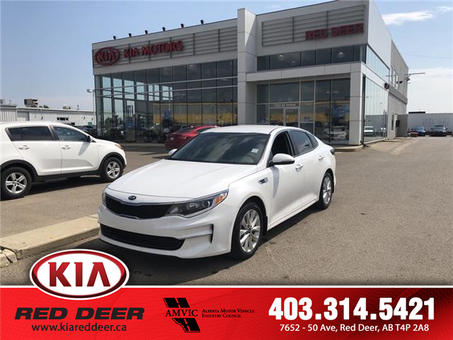 2017 Kia Optima LX+ (Stk: 8SP1064A) in Red Deer - Image 1 of 9
