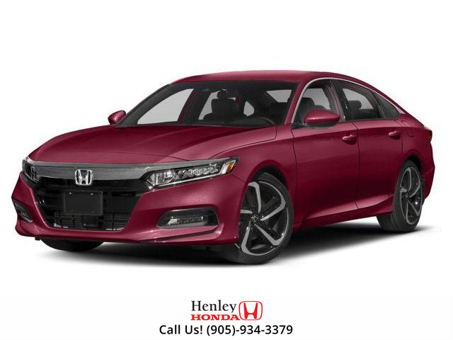 2018 Honda Accord Sport (Stk: H17449) in St. Catharines - Image 1 of 9