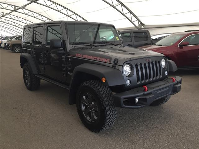 2017 Jeep Wrangler Unlimited Rubicon (Stk: 166849) in AIRDRIE - Image 1 of 20