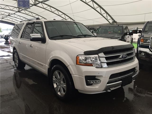 2017 Ford Expedition Max Platinum (Stk: 162913) in AIRDRIE - Image 1 of 24