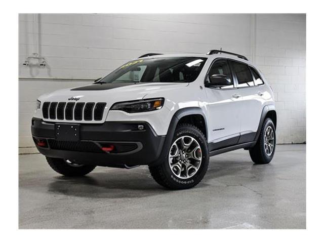 2021 Jeep Cherokee Trailhawk (Stk: 21J074) in Kingston - Image 1 of 30