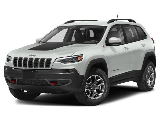 2021 Jeep Cherokee Trailhawk (Stk: 1C4PJM) in Kingston - Image 1 of 9