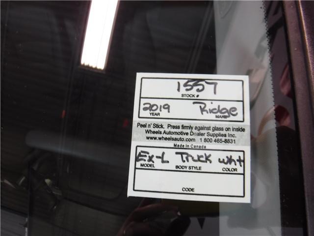 2019 Honda Ridgeline EX-L (Stk: 1557) in Lethbridge - Image 19 of 19