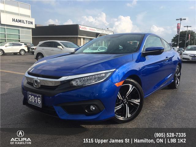 2016 Honda Civic Touring (Stk: 1611780) in Hamilton - Image 2 of 25