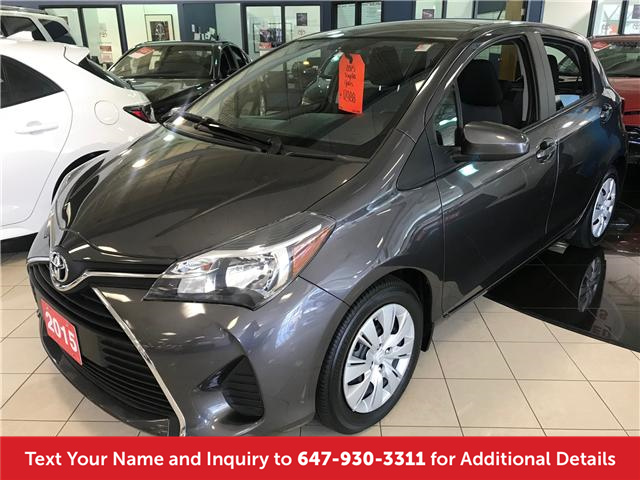 2015 Toyota Yaris LE (Stk: 19708) in Mississauga - Image 1 of 12
