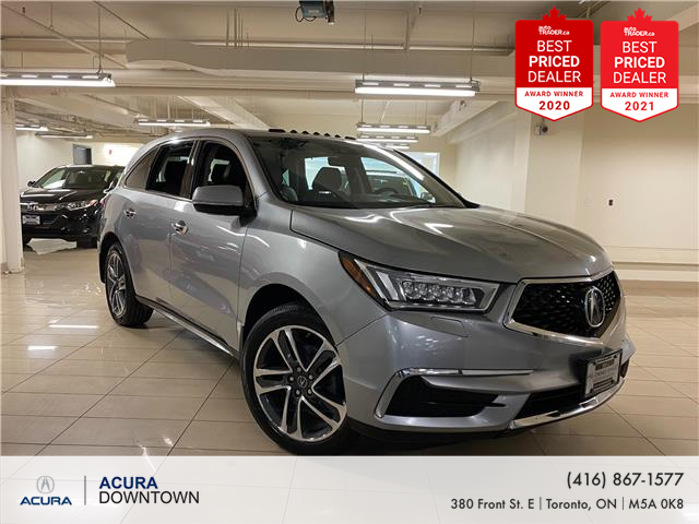 2018 Acura MDX Technology Package (Stk: M13776A) in Toronto - Image 1 of 37
