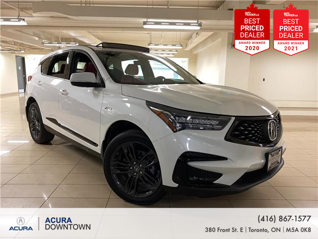 2020 Acura RDX A-Spec (Stk: AP4139) in Toronto - Image 1 of 33