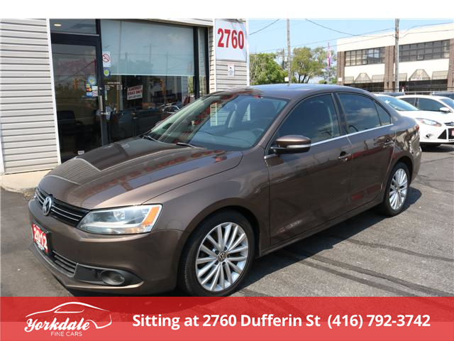 2012 Volkswagen Jetta 2.0 TDI Highline (Stk: DA0025) in North York - Image 1 of 26