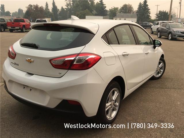 2018 Chevrolet Cruze LT Manual (Stk: 18C19) in Westlock - Image 6 of 26