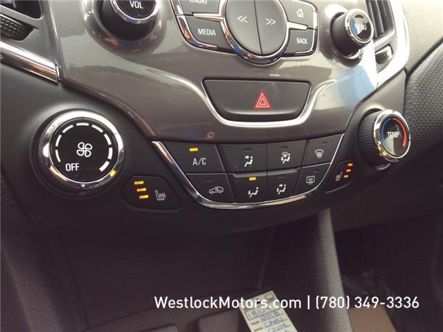 2018 Chevrolet Cruze LT Manual (Stk: 18C19) in Westlock - Image 20 of 26