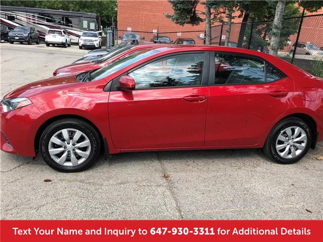 2016 Toyota Corolla LE (Stk: 19714) in Mississauga - Image 2 of 14