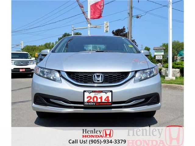 2014 Honda Civic LX BLUETOOTH (Stk: B0749) in St. Catharines - Image 4 of 12
