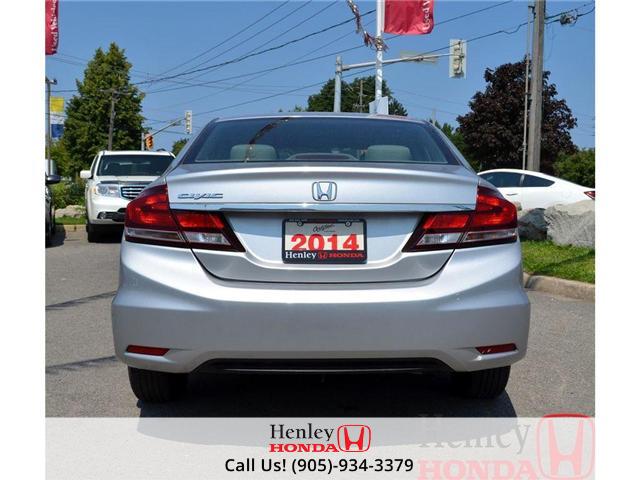 2014 Honda Civic LX BLUETOOTH (Stk: B0749) in St. Catharines - Image 5 of 12