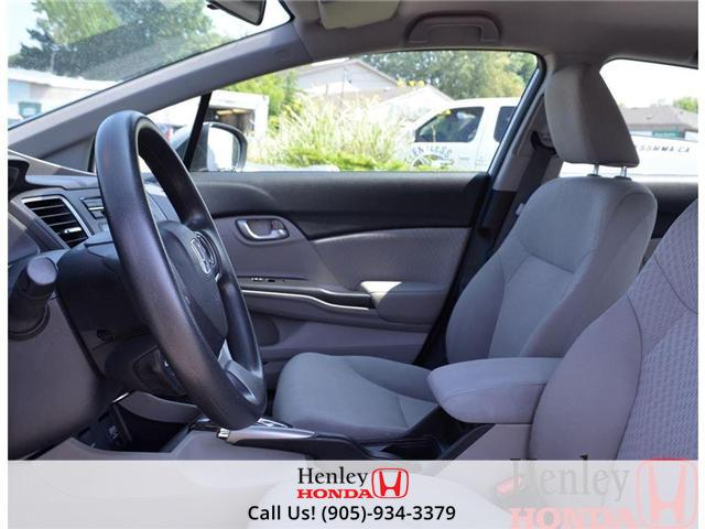 2014 Honda Civic LX BLUETOOTH (Stk: B0749) in St. Catharines - Image 6 of 12