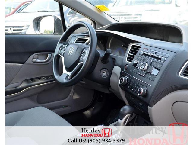 2014 Honda Civic LX BLUETOOTH (Stk: B0749) in St. Catharines - Image 8 of 12