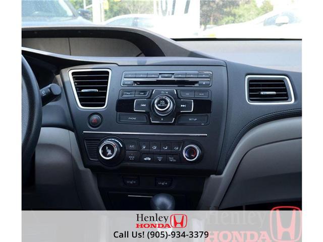 2014 Honda Civic LX BLUETOOTH (Stk: B0749) in St. Catharines - Image 9 of 12