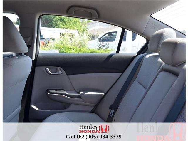 2014 Honda Civic LX BLUETOOTH (Stk: B0749) in St. Catharines - Image 12 of 12