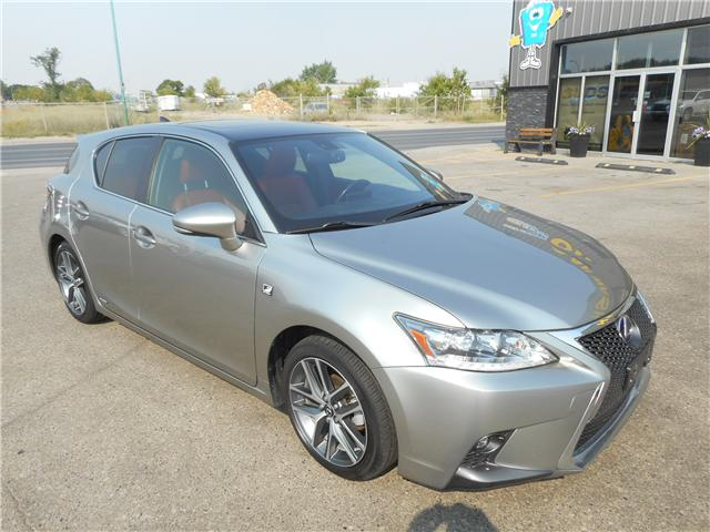 2017 Lexus CT 200h Base (Stk: C2484) in Regina - Image 1 of 30