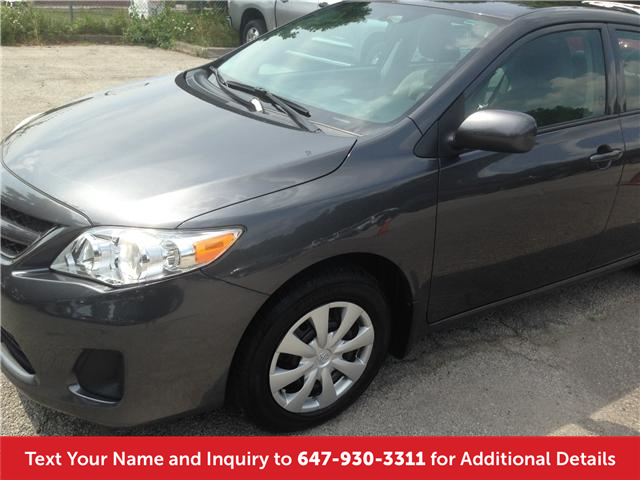2013 Toyota Corolla LE (Stk: 19722) in Mississauga - Image 1 of 13