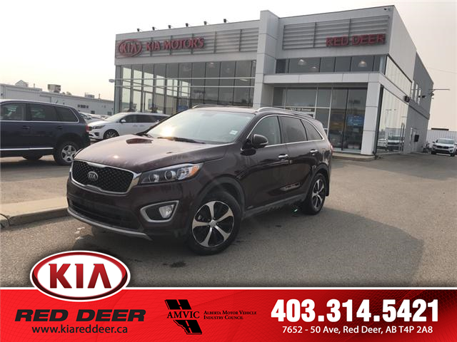 2018 Kia Sorento 2.0L EX (Stk: 9SR5089A) in Red Deer - Image 1 of 9