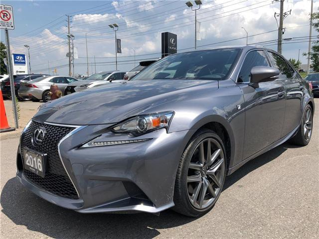 2016 Lexus IS 300 Base (Stk: 001803T) in Brampton - Image 1 of 16