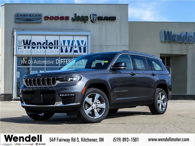 2021 Jeep Grand Cherokee L Limited (Stk: 43100) in Kitchener - Image 1 of 21
