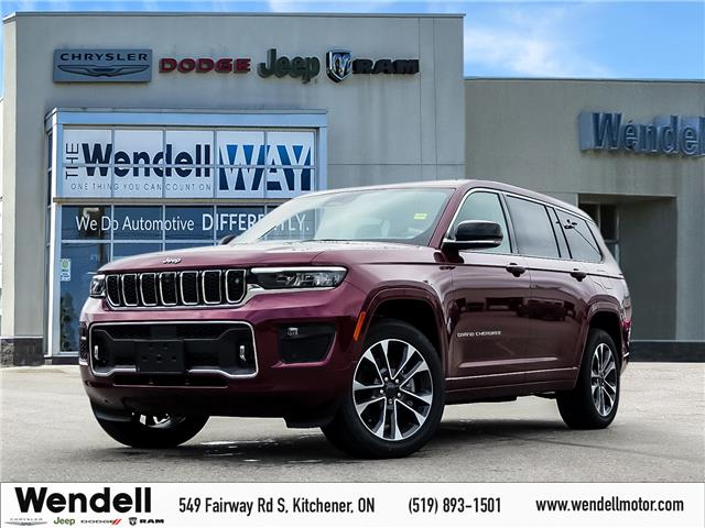 2021 Jeep Grand Cherokee L Overland (Stk: 43136) in Kitchener - Image 1 of 22